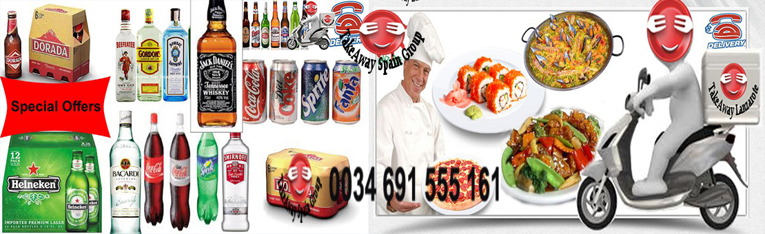 Takeaway Spain Group - Restaurants Delivery Spain - Delivery Spain